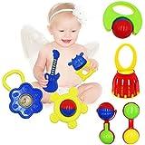 BabyPrice 9pcs Baby Toy Set, For Infant & Toddler, Eco Friendly, Non-Toxic, Freezer-safe