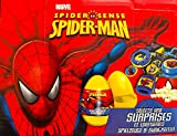 3 Spider-man Surprise Eggs with Toy and Candy Inside. Exciting and Fun Toy By Bon Bon Buddies for Children As Seen in Unboxing and Unwrapping Videos on Youtube.