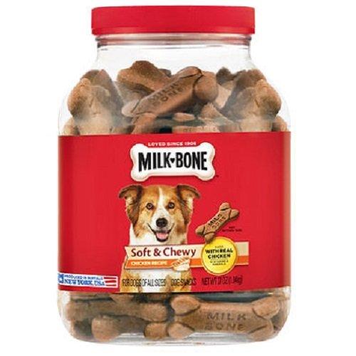 Milk-Bone Soft Chewy Chicken Recipe Treats 37 Oz Dogs Chew