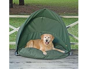"""Canine Cabana Dog Bed Tent Medium 30"""": Amazon.co.uk: Pet"""