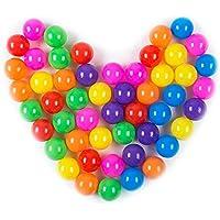 Pit Balls, Dadoudou Colorful Fun Phthalate Free Bpa Free Crush Proof Balls Soft Plastic Air Filled Ocean Ball...