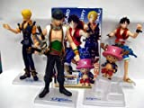One Piece: Unlimited Adventure 4pc Trading Figures