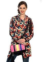 Mix N Match Multi Stylish Folder Clutch Fashion Bag With Multi Pocket - B01IBJWJMI