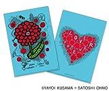 Charity Goods : 24 hours TV 2013 Clear Folder - Arashi: Satoshi Ohno / Yayoi Kusama (Light Blue)