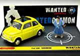 brumm 1/43 Fiat 500 Lupin III WANTED GOEMON (japan import)