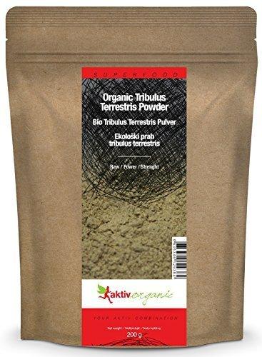 Aktiv Organic BIO Tribulus Terrestris Pulver, 200g