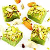 Diwali Gifts-Ghasitarams Sweets Pistachio Squares 200 Gms