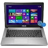 ASUS 90NB0279-M03670 K450CA-BH21T 14 Touch Screen Notebook Intel Pentium 2117U 1.8GHz 4GB DDR3 500GB HDD DVD-Writer...