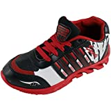 Feet Ok Blade 101 Black Red Mesh Running Shoes For Men's