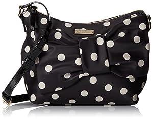 kate spade new york Petal Drive Nella Cross Body Bag,Black Multi,One Size