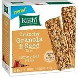 Kashi Crunchy Granola & Seed Bars Honey Oat Flax - 7.2 OZ Boxes - Pack Of 6
