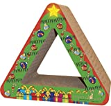 Christmas Tree Recycled Paper Scratching Post
