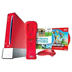 Wii Hardware Bundle in Red