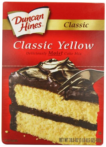 duncan hines yellow cake mix duncan hines signature yellow cake mix 16 5 ounce boxes 3776