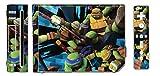 Teenage Mutant Ninja Turtles TMNT Leonardo Mike Raph Donatello Splinter Shredder Video Game Vinyl Decal Skin Sticker Cover for the Nintendo Wii System Console