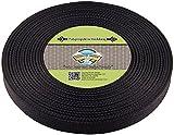 Country Brook Design® 1 Inch Black Polypro Webbing, 100 Yards
