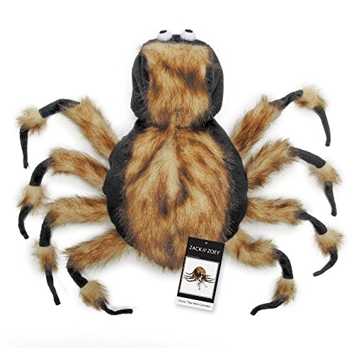 "Zack & Zoey Fuzzy Tarantula Costume for Dogs, 20"" Large"
