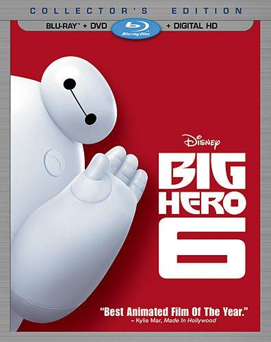 Big Hero 6 (Blu-ray + DVD + Digital HD) i