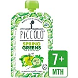 Piccolo Organic Spring Greens With Hint Of Mint 100g