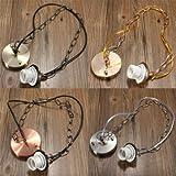 Generic 1M E27/E26 Ceiling Rose Chain Pendant Chandelier Light Lamp Bulb Holder Socket-antique Brass