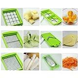 Inditradition Nicer Dicer Plus Multi Chopper Vegetable Cutter Fruit Slicer,Works As Grater, Cutter, Peeler, Slicer...
