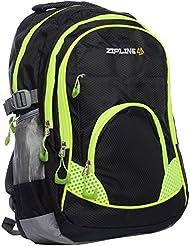 ZIPLINE 21 Ltrs Black Casual Backpack