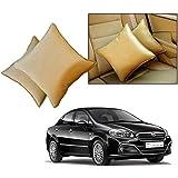 Car Vastra Cushion Pillow Set Beige Color For Car & Home For - Fiat Linea 2015