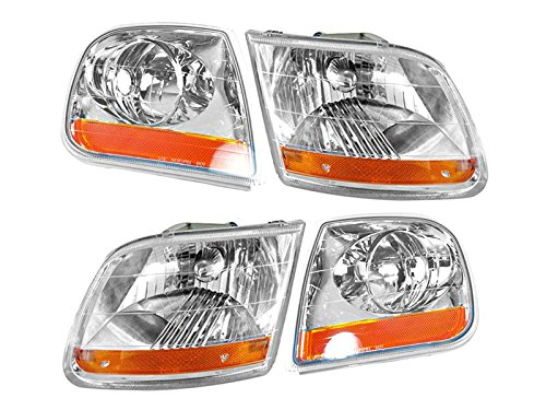 Ford F-150 Truck 01-04 Harley-Davidson Head And Corner Light 4 Piece Combo