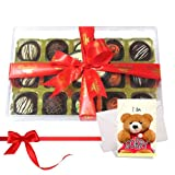 Delicious Truffles Collection With Sorry Card - Chocholik Luxury Chocolates