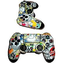 Elton PS4 Controller Designer 3M Skin For Sony PlayStation 4 , PS4 Slim , PS4 Pro DualShock Remote Wireless Controller (Set Of Two Controllers Skin) - Bomb ( Multicolor , Standard )