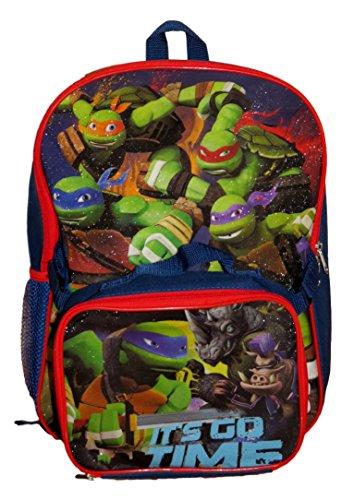TMNT Ninja Turtles Backpack w/Lunchbox