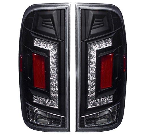 2nd Generation Super Led Black Housing Brake Stop Tail Lights For Ford F150