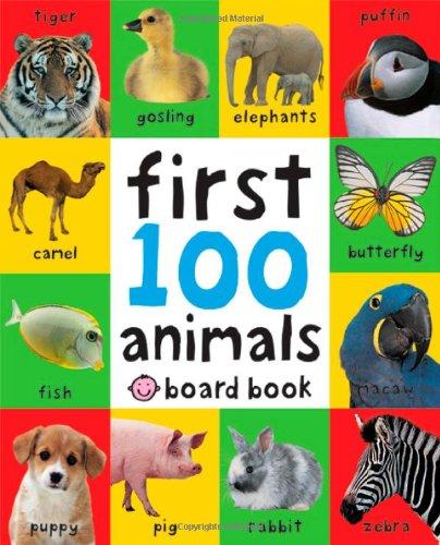 My First 100 Animals  Book