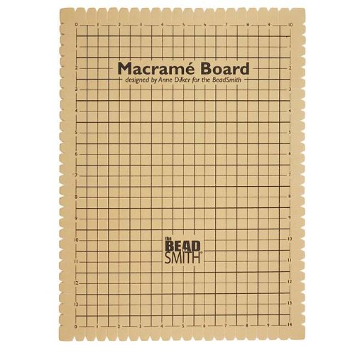 macrame boards beadaholique macrame board for braiding 14 by 10 inch 8231
