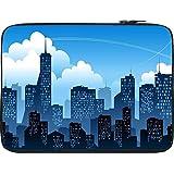 Snoogg Mumbai By Night 10 To 10.6 Inch Laptop Netbook Notebook Slipcase Sleeve