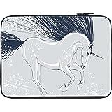 Snoogg Unicorn 2824 12 To 12.6 Inch Laptop Netbook Notebook Slipcase Sleeve