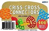 ECR4Kids Criss-Cross Connector Math Manipulatives Building Kit (400 Piece)
