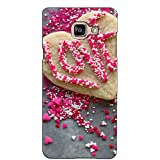PrintVisa Designer Back Case Cover For Samsung Galaxy On Max (Love Word Formation)