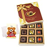 Luscious Celebration Of Pralines Chocolates With Sorry Card - Chocholik Luxury Chocolates