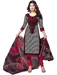 Janasya Women's Unstitched Polyester Dress Material