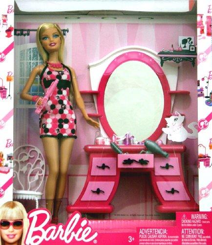 t barbie  barbiefurniture:  dressing room