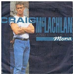 Craig McLachlan - Mona (1990, & Check 1-2) / Vinyl Maxi