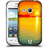Samsung Galaxy Young S6310 , Ombre Sunset Over The Sea : Head Case Designs Ombre Sunset Over The Sea Beautiful...