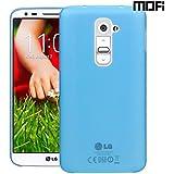 MOFI Air Skin Case For LG G2 D802 Case With Matte Finish Anti Slip Matte Surface Back Cover Case For LG G2 D802 - Blue