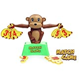 Otulet Parent Child Interactive Game, Party Game, Family Hobbies Educational Learning Desktop Toys Monkey Match...