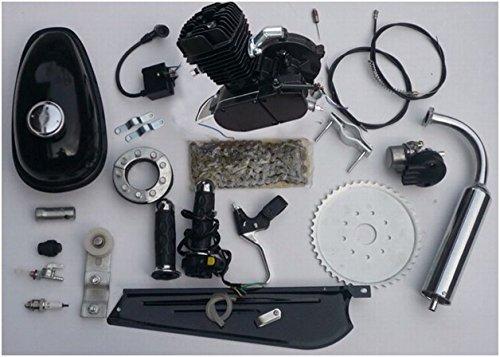 Bicycle Motor Works – 66/80cc 2-stroke Black Bike Engine Kit