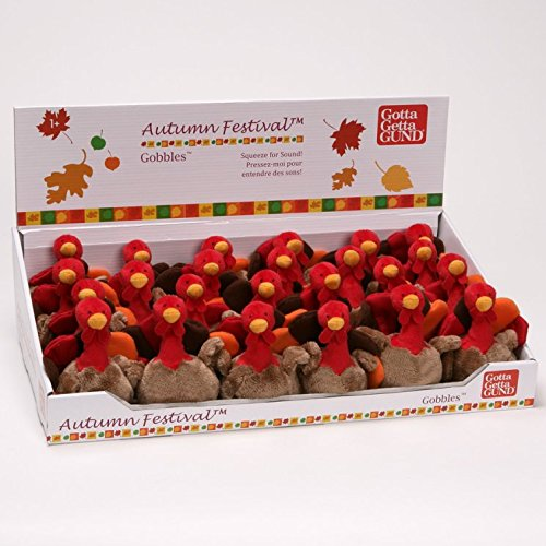 Gund Fun Thanksgiving Gobbles Sound 5