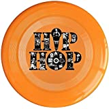 XJBD Unisex Hip Hop Outdoor Game, Sport, Flying Discs, Game Room, Light Up Flying, Sport Disc , Flyer Frisbee, Ultra Star Yellow One Size