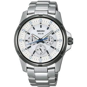 クライテリア criteria 腕時計 ソーラー ホワイト メンズ SDBV017 メンズ