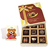 Tasty Treat Of Delightful Chocolates With Sorry Card - Chocholik Luxury Chocolates